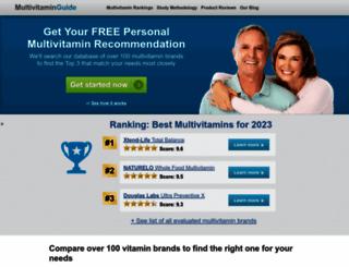 multivitaminguide.org screenshot