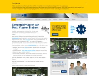 multivloerenbrabant.nl screenshot
