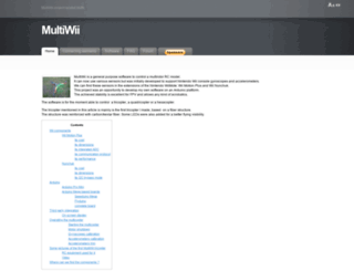 multiwii.com screenshot