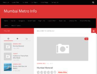 mumbaimetroinfo.com screenshot