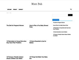 mumbub.com screenshot