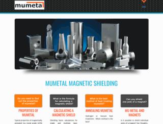 mumetal.co.uk screenshot