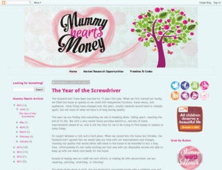 mummyheartsmoney.blogspot.com screenshot