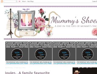 mummysshoes.com screenshot