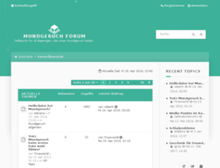 mundgeruch-forum.de screenshot