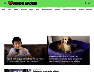 mundoamores.com screenshot