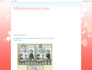 mundoconsejos-amor.blogspot.mx screenshot