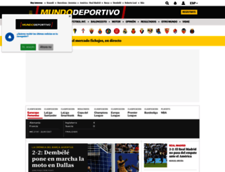 mundodeportivo.es screenshot