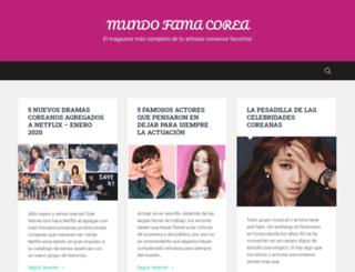 mundofamacorea.net screenshot