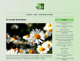 mundoflores.net screenshot