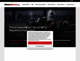 mundomotero.com screenshot