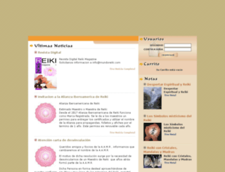mundoreiki.com screenshot