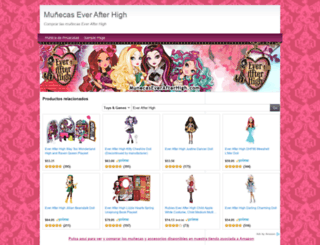 munecaseverafterhigh.com screenshot