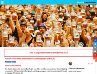 munichsoktoberfest.com screenshot