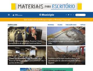 municipiomais.com.br screenshot
