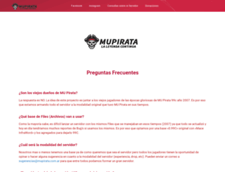 mupirata.com.ar screenshot