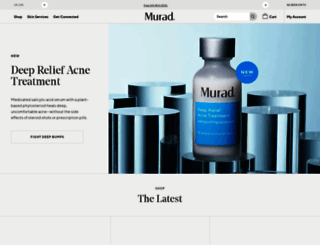 murad.com screenshot