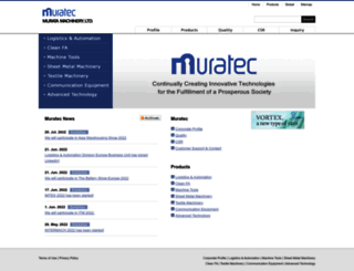 muratec.net screenshot