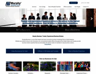 murphybusiness.com screenshot
