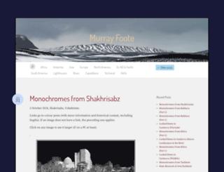 murrayfoote.com screenshot