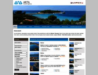 murter-kornati.com screenshot