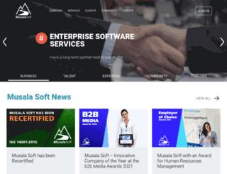 musala.com screenshot