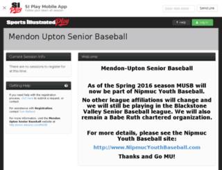 musb.sportssignupapp.com screenshot