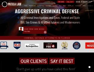 muscalaw.com screenshot