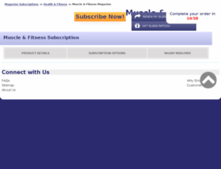 muscle-and-fitness.com-sub.biz screenshot