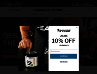 musclefeast.com screenshot