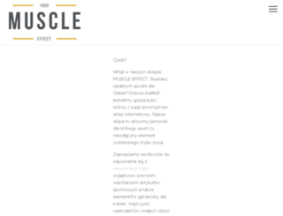 muscleffect.pl screenshot