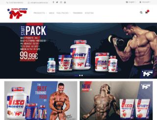 muscleforce.es screenshot