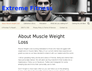 muscleweightloss.com screenshot