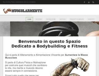 muscolarmente.com screenshot