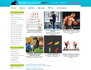musculacion.net screenshot