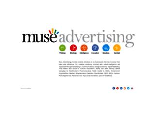 museadvertising.com screenshot