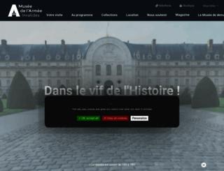 musee-armee.fr screenshot