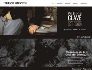 museoarocena.com screenshot