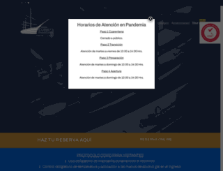 museoesmeralda.cl screenshot