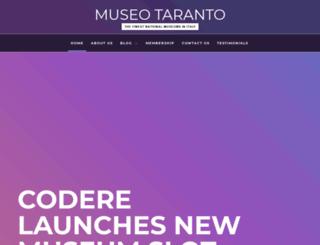 museotaranto.org screenshot