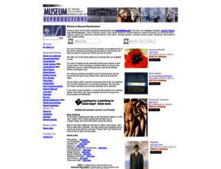 museum-reproductions.com screenshot
