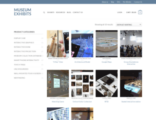 museumexhibits.com screenshot