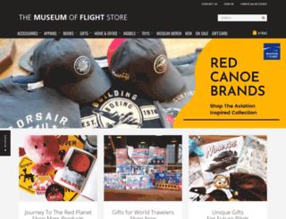 museumofflightstore.org screenshot