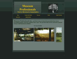 museumprofessionals.com screenshot