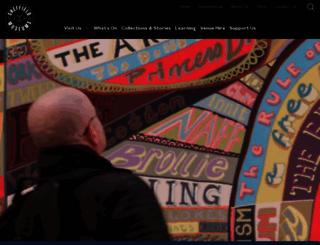 museums-sheffield.org.uk screenshot