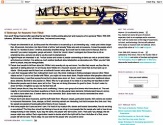 museumtwo.blogspot.com screenshot