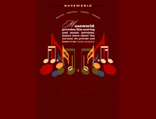 museworld.com screenshot