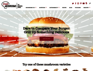 mushroominfo.com screenshot