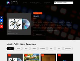 music-critic.com screenshot