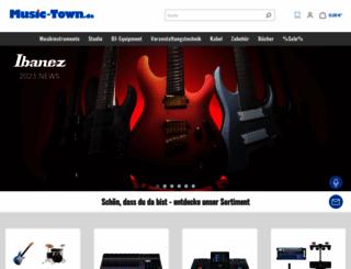 music-town.de screenshot